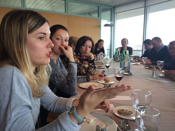 Les membres du jury France Télévisions, le 23 mars 2017