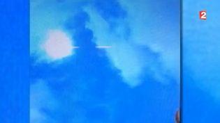 Une météorite filmée dans le ciel deSaint-Etienne-de-Tinée (Alpes-Maritimes), le 17 février 2016. (FRANCE 2)
