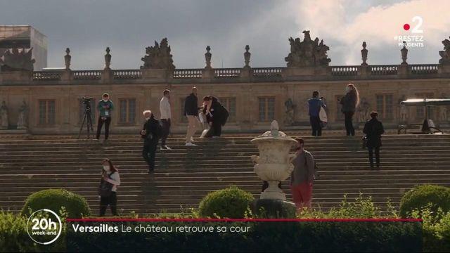 Déconfinement : le château de Versailles retrouve sa cour