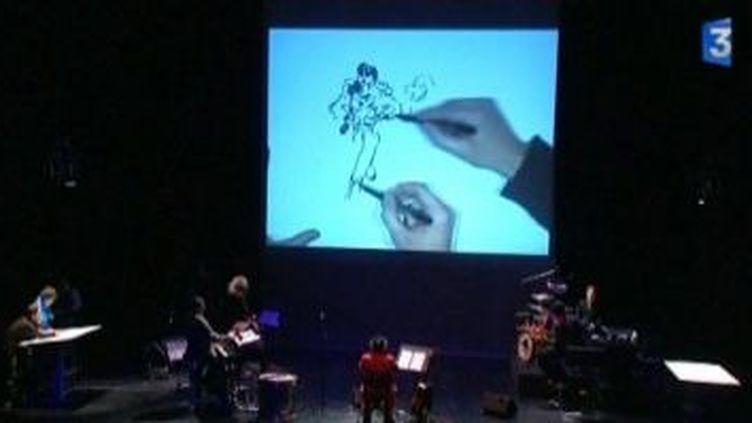 Festival d'Angoulême : dessine-moi un concert  (Culturebox)