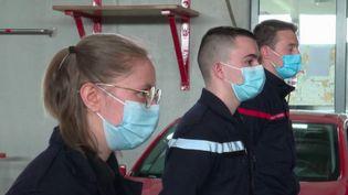Alsace : les sapeurs-pompiers volontaires mobilisés (France 3)