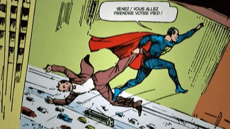 Superman , l'un des héros préférés des américains fait toujours recette.  (Copie d'écran France 3)