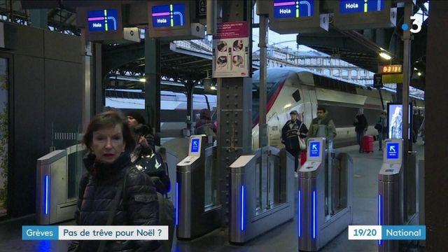 Grève à la SNCF : l'inquiétude des passagers à l'approche de Noël