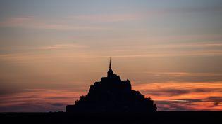 Le Mont-Saint-Michel, le 21 juillet 2020. (LOIC VENANCE / AFP)