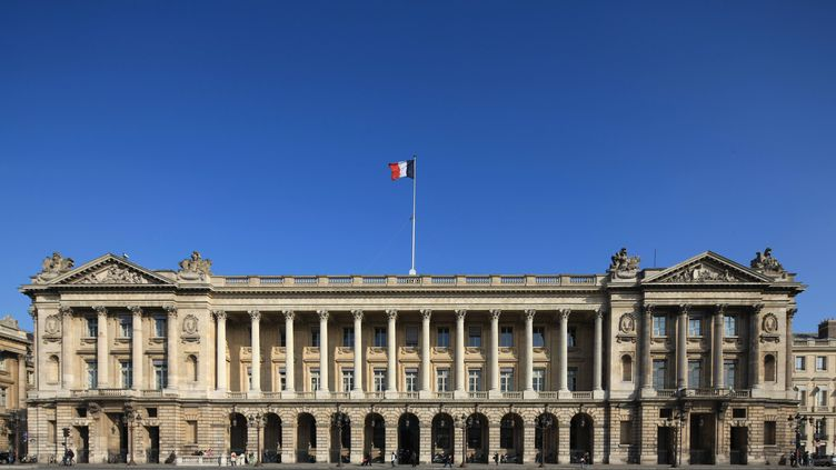 L'Hôtel de la Marine, à Paris. (PHOTO12 / GILLES TARGAT / AFP)