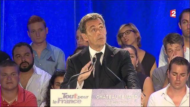 Politique : 1er meeting de campagne pour Nicolas sarkozy