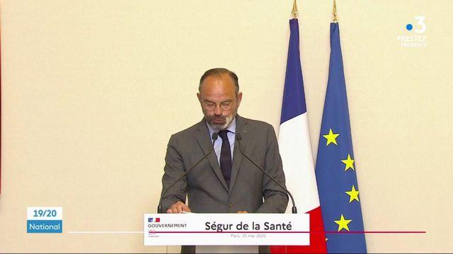 Ségur de la santé : Édouard Philippe promet une revalorisation des salaires pour les soignants