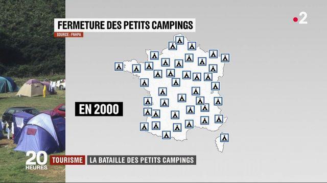 Tourisme : la bataille des petits campings
