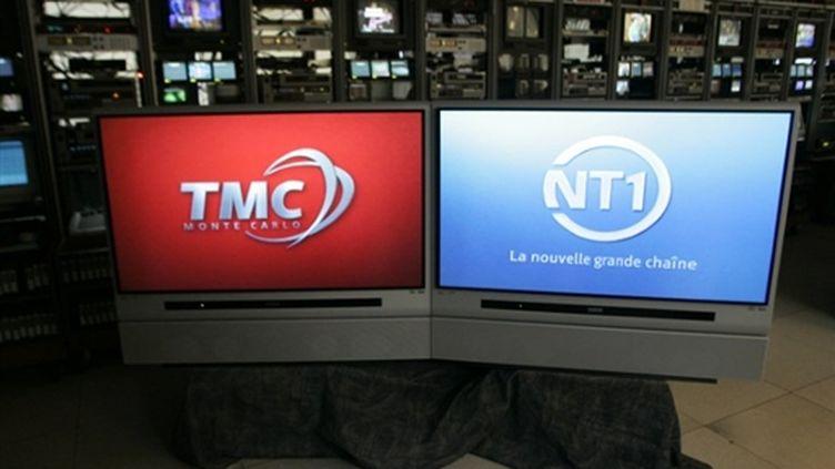 Les deux chaînes de la TNT, TMC et NT1 (AFP Joel Robine)