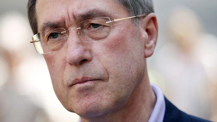 L'ancien ministre de l'Intérieur, Claude Guéant à Boulogne-Billancourt (Hauts-de-Seine) le 27 mai 2012 (THOMAS SAMSON / AFP)