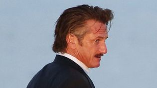 Sean Penn le 17 mai 2012 à Cannes  (AFP PHOTO / LOIC VENANCE)