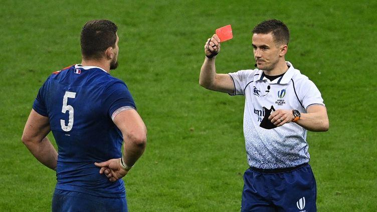 Le Français avait été exclu samedi 20 mars, face au pays de Galles. (ANNE-CHRISTINE POUJOULAT / AFP)