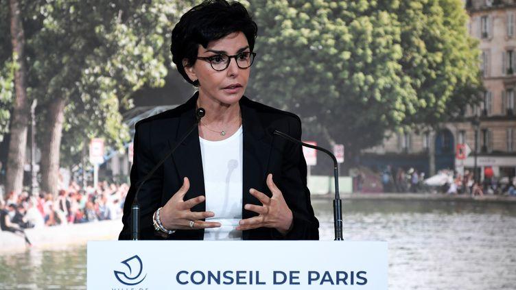 Rachida Dati, le 3 juillet 2020, à l'Hotel de ville de Paris. (BERTRAND GUAY / AFP)