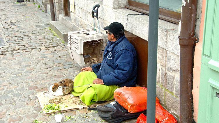 (497 personnes sans domicile fixe sont mortes dans la rue en 2015 © MaxPPP)