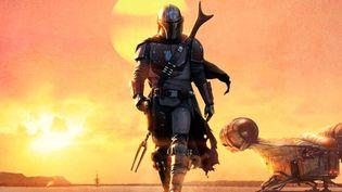 """La série Star Wars de Disney+ """"The Mandolorian"""" revient avec un nouvel épisode tous les vendredis. (Disney+)"""