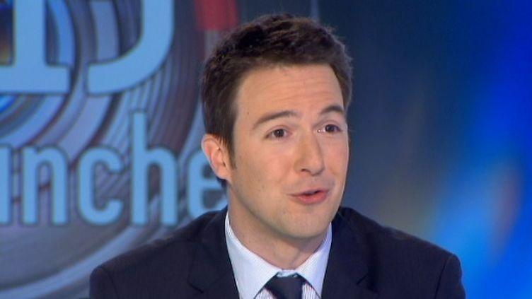 Guillaume Peltier secrétaire national de l'UMP (FTV)