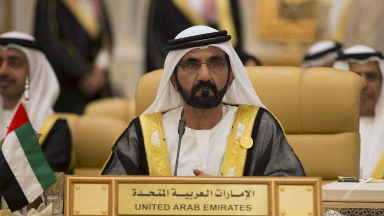 Le Premier ministre des Emirats, cheikh Mohammed bin Rashid al-Maktoum, lors d'un sommet à Riyad en novembre 2015. (Reuters / Faisal Al Nasser)