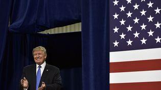 Donald Trump le nouveau président desÉtats-Unis  (MANDEL NGAN / AFP)