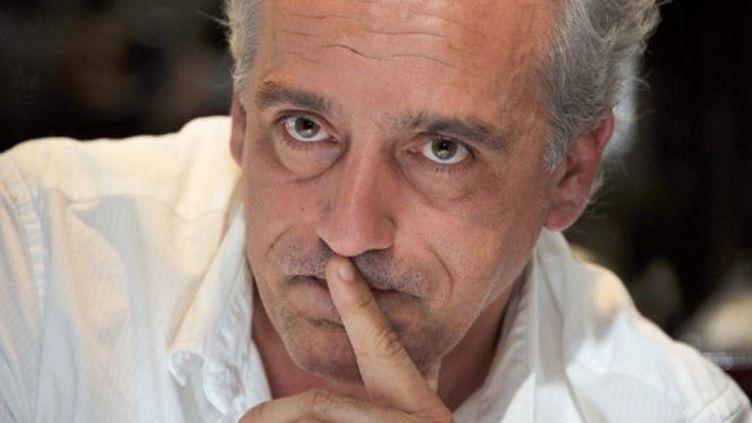 Philippe Poutou, candidat du Nouveau parti anticapitaliste a dénoncé l'autorisation de la culture du maïs OGM (AFP)