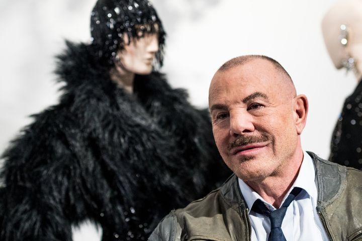 Le couturier Thierry Mugler, février 2019  (MARTIN OUELLET-DIOTTE / MARTIN OUELLET-DIOTTE / AFP / AFP)
