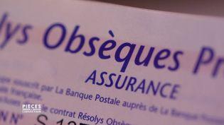 Le contrat obsèques à vie, ou le piège de la formule viagère (PIÈCES A CONVICTION / FRANCE 3)