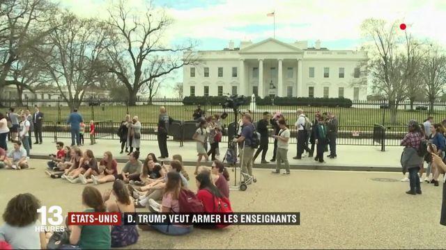 Etats-Unis : Donald Trump envisage d'armer les enseignants