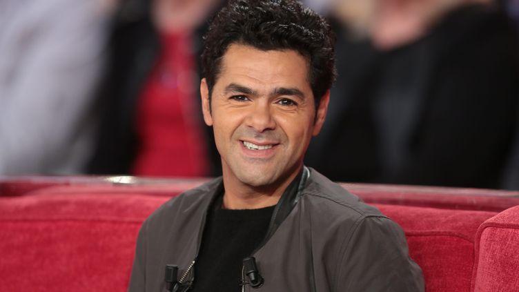 """L'acteur Jamel Debbouze lors de l'enregistrement de l'émission """"Vivement dimanche"""" sur France 2, le 27 janvier 2016. (MAXPPP)"""