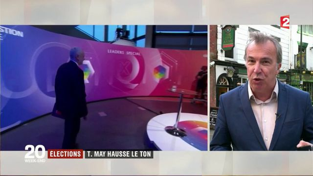 Élections : Theresa May hausse le ton