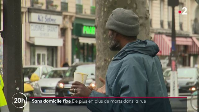 Le nombre de sans-abri morts dans la rue a augmenté de 15% en 2018