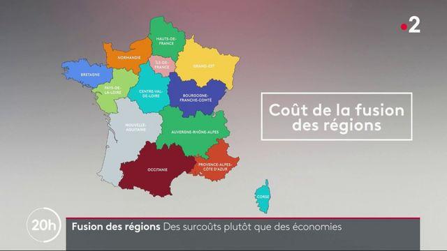 Fusion des régions : des surcoûts plutôt que des économies