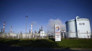 La raffinerie du Grandpuits-Bailly-Carrois (Seine-et-Marne), le 6 janvier 2020. (MARTIN BUREAU / AFP)