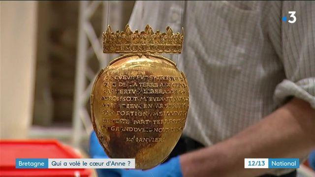 Bretagne : qui a volé le coeur d'Anne de Bretagne ?