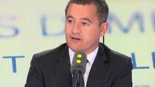 Gérald Darmanin, ministre de l'Action et des comptes publics, invité de franceinfo le 5 septembre 2018. (RADIO FRANCE / FRANCE INFO)