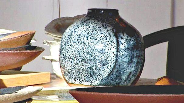 Vase en céramique - Pierre Casenove  (France3/Culturebox)