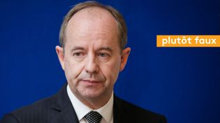 Jean-Jacques Urvoas assure que l'écrasante majorité des mineurs condamnés ne récidive pas (MAXPPP)