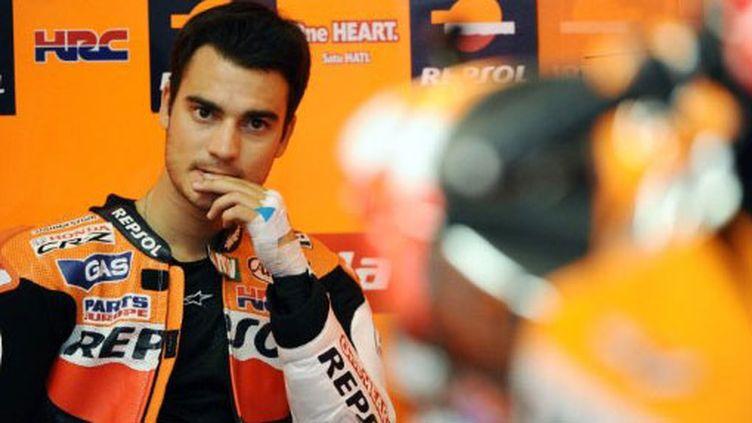 L'Espagnol Dani Pedrosa (Honda)