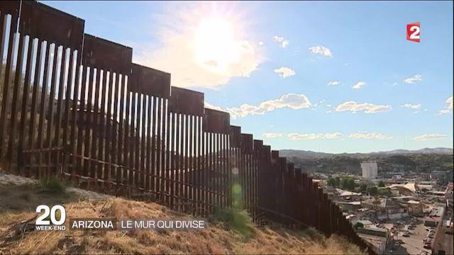 Trump et son projet de mur avec le Mexique