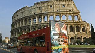 Une vue du Colisée de Rome (Italie), en janvier 2014. (WILFRIED LOUVET / ONLY WORLD / AFP)