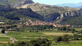 Le village de Tautavel dans les Pyrénées-Orientales (illustration). (PHILIPPE ROUAH / MAXPPP)