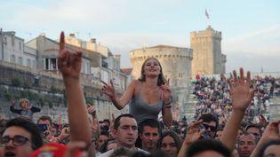 Le public des Francofolies de La Rochelle, le 13 juillet 2017. (XAVIER LEOTY / AFP)