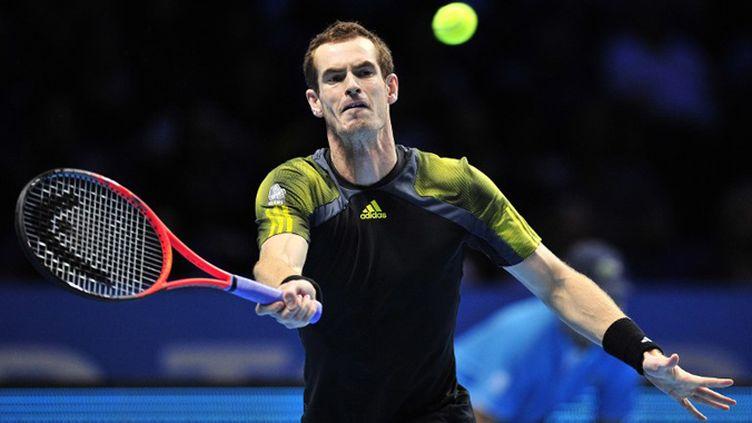 Le Britannique Andy Murray (GLYN KIRK / AFP)