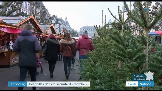 Fusillade à Strasbourg : des failles dans la sécurité du marché de Noël ?