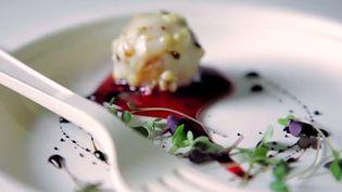 """Un mini-plat gastronomique à découvrir à """"Taste of Paris"""".  (Taste of Paris)"""