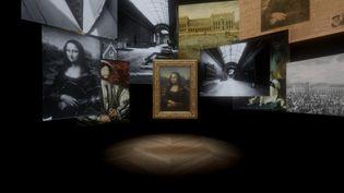 L'exposition Léonard de Vinci au Louvre. Courtesy Emissive and HTC Vive Arts. (MUSÉE DU LOUVRE)