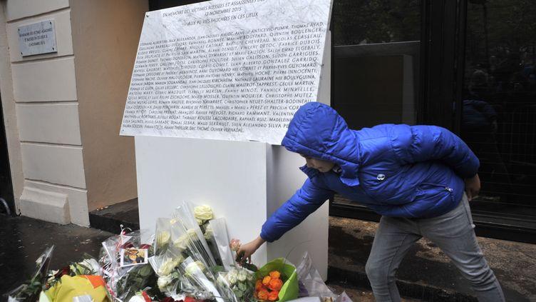 Commémoration des attentats du Bataclan, avec un concert, un an après, le 13 novembre 2016. (SERGE ATTAL / ONLY FRANCE)