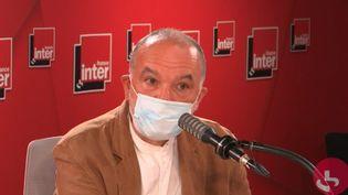 L'historien Jean-Pierre Filiu, invité jeudi 2 septembre 2021 sur France Inter. (FRANCEINTER / RADIO FRANCE)