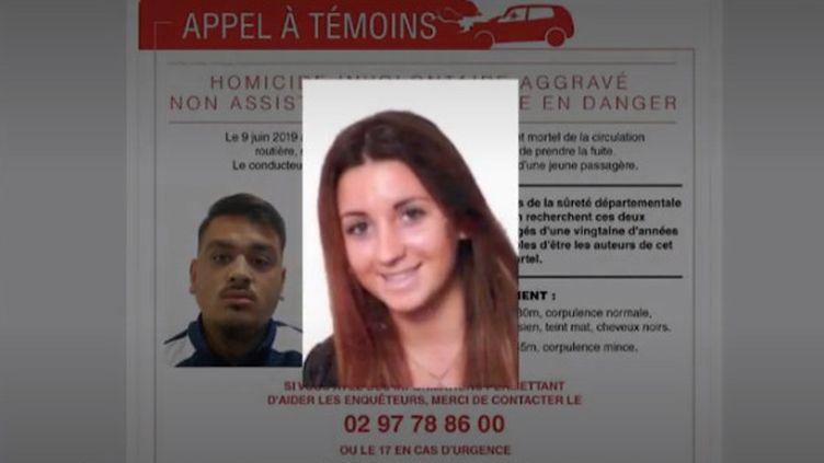 Depuis l'accident qui a coûté la vie à un enfant de 9 ans et blessé un autre de 7 ans, à Lorient, dans le Morbihan, la police cherche encore le chauffard, tandis que sa passagère a été mise en examen. (FRANCE 2)