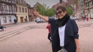 Grâce à une télé-réalité qui cartonne en Chine, Colmar, dans le Haut-Rhin, est devenue la nouvelle attraction des touristes de l'empire du Milieu. (FRANCE 2)