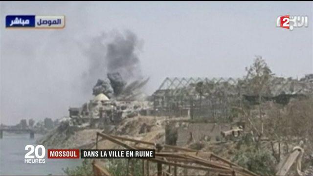 Mossoul: dans la ville en ruine