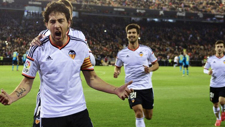 Dani Parejo a fait souffrir la défense de Séville. (JOSE JORDAN / AFP)
